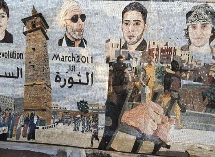 الفن والثورة السورية