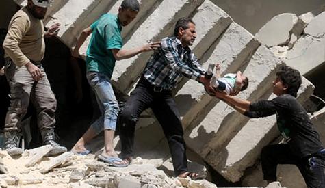 أنماط وفيات المدنيين والأطفال بسبب العنف المرتبط بالحرب في سورية