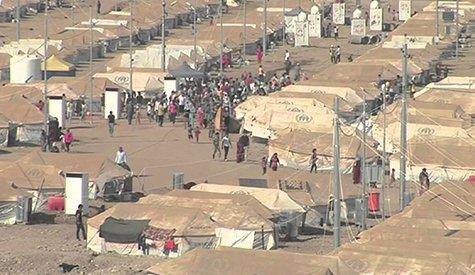 المراكز الصحية في مخيمات اللاجئين السوريين/ إقليم كردستان العراق