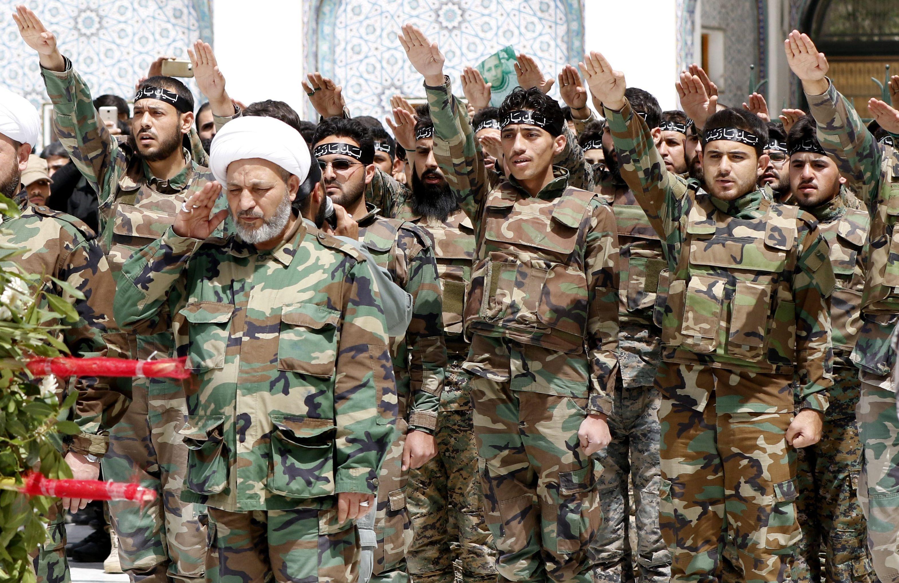 القوات والميليشيات الشيعية وأعمالها العسكرية في سورية