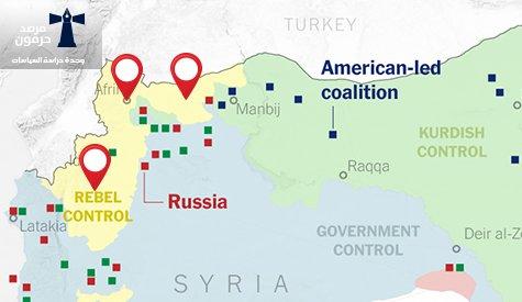 القواعد العسكرية التركية في سورية