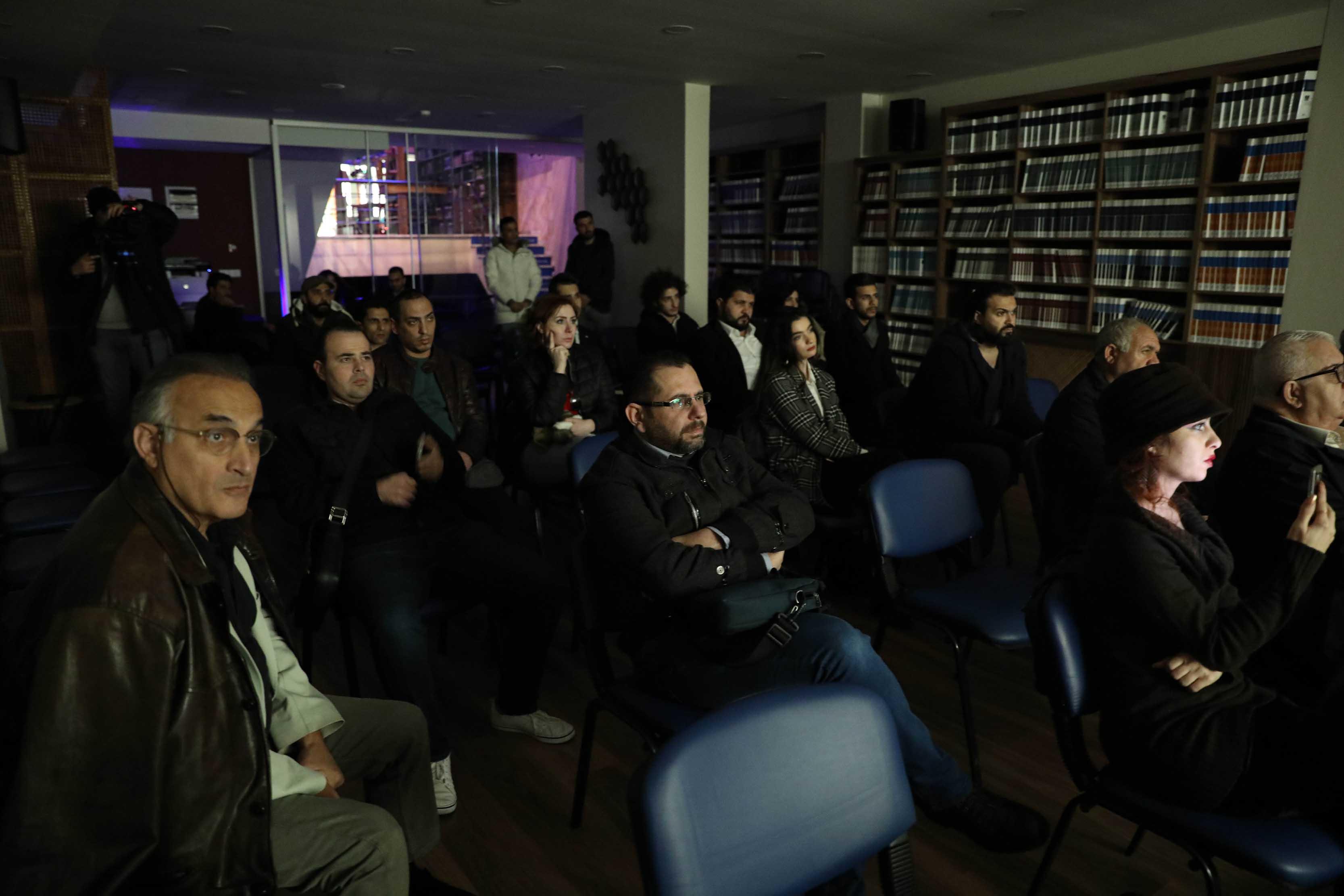 """عرض فيلم """"رسالة أخيرة"""" في صالة """"المنتدى الثقافي"""" التابع لمركز حرمون في إسطنبول"""