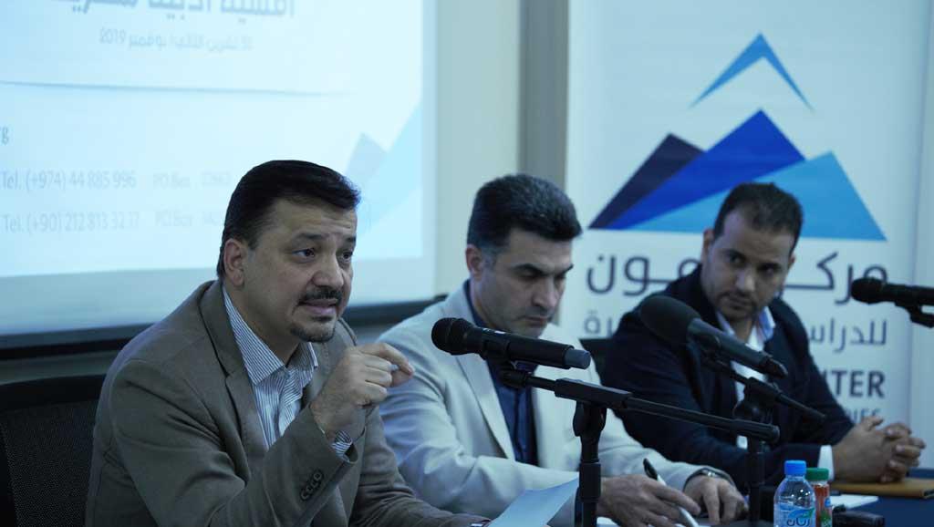 أمسية أدبية في مركز حرمون للدراسات المعاصرة في الدوحة/ التسجيل الكامل