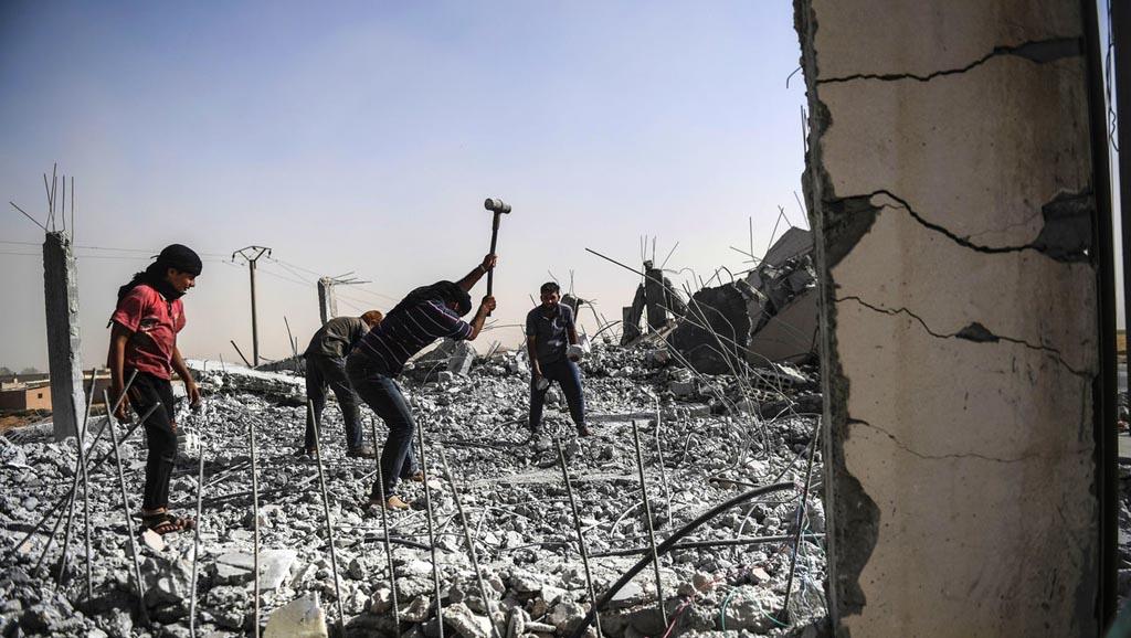 مسألة إعادة الإعمار السورية... القضايا والديناميات