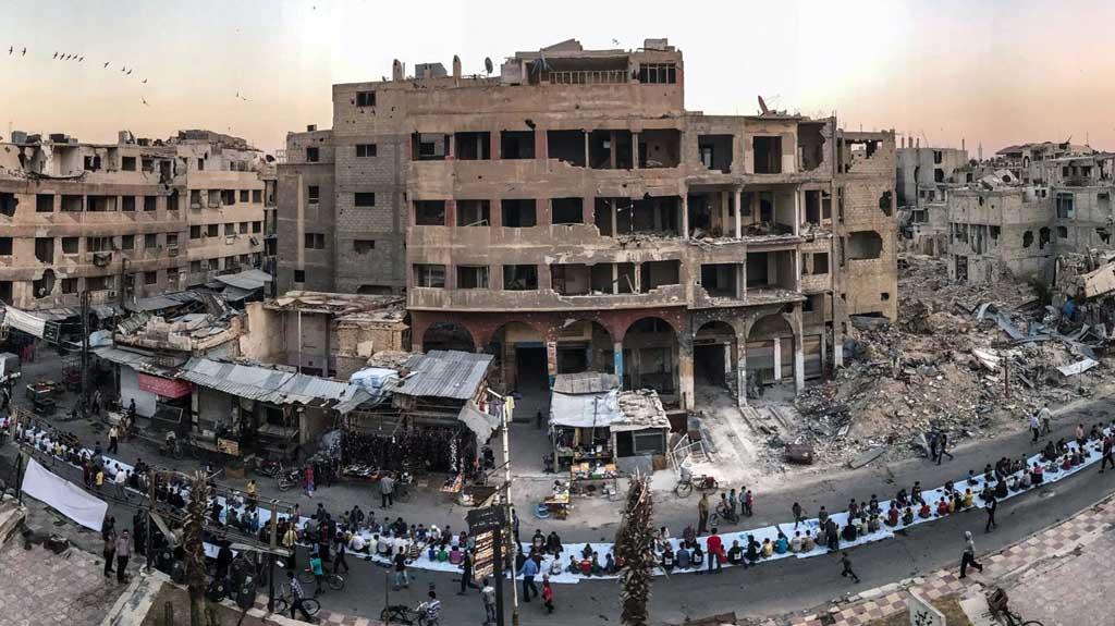 إعادة بناء سورية... أم إعادة بناء السلام؟