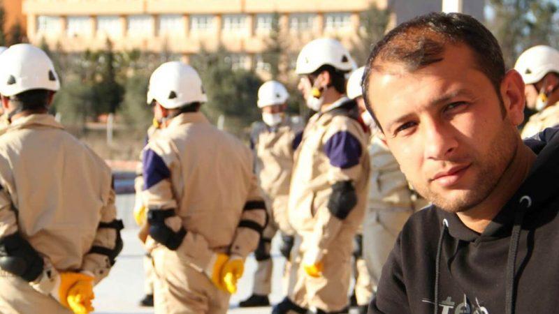 """رائد الصالح مدير الدفاع المدني السوري """"الخوذ البيضاء"""""""