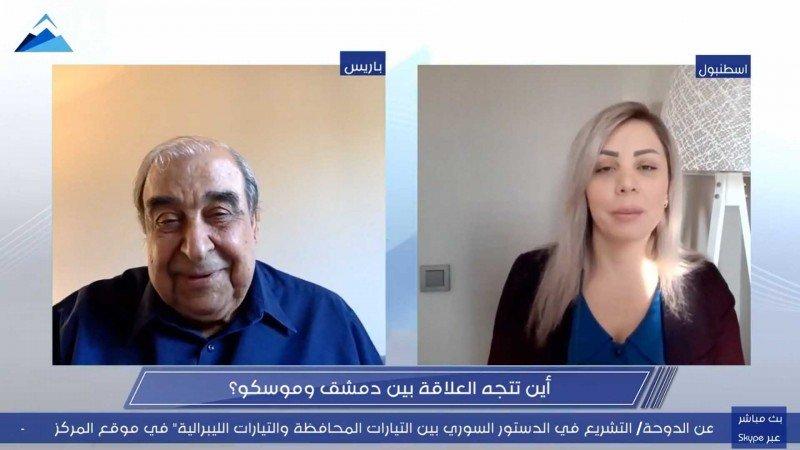 """ميشيل كيلو وخفايا صراع مخلوف - الأسد في ندوة لـ """"حرمون"""""""
