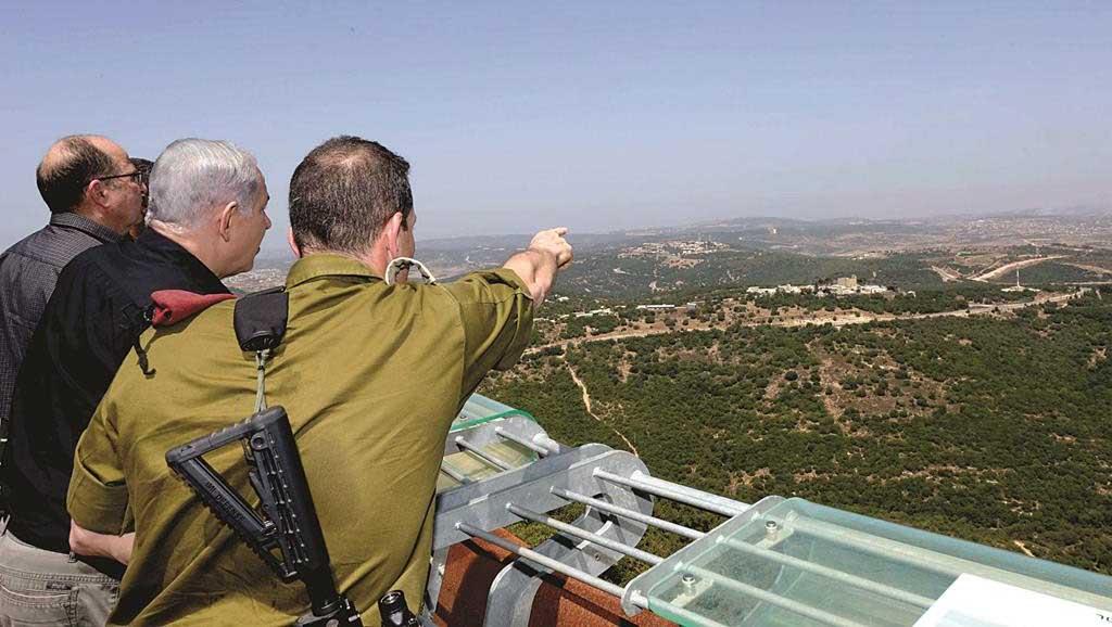 الاستراتيجية الإسرائيلية الجديدة في سورية