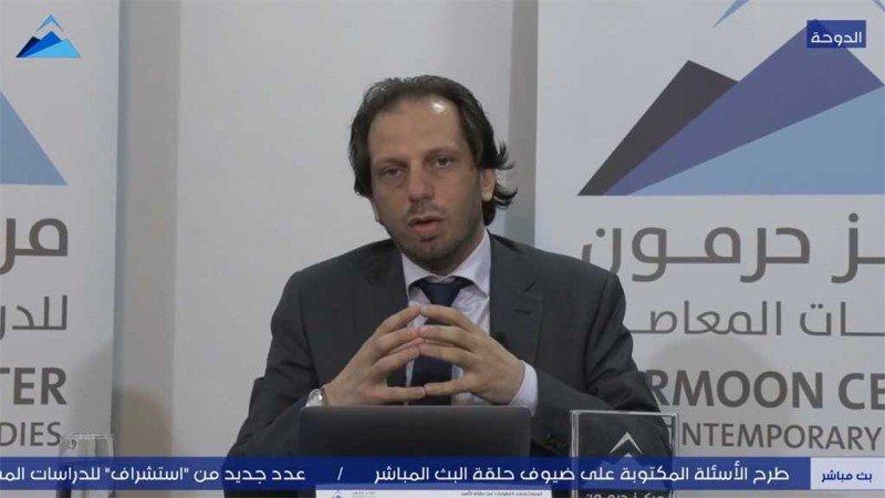 """""""كورونا والعقوبات على نظام الأسد"""" في ندوة لحرمون"""