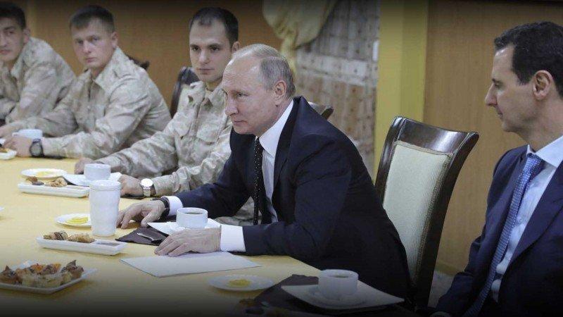 سورية: محميّة روسية مدمّرة ويحكمها بشار الأسد