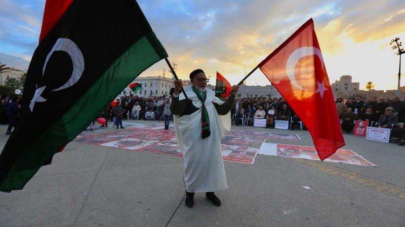 الأزمة الليبية... شرق المتوسط والصراع التركي-الروسي