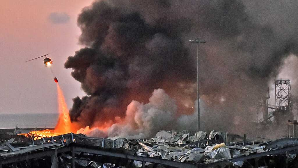 لماذا أبقى لبنان مواد قابلة للانفجار في ميناء بيروت ستة أعوام؟