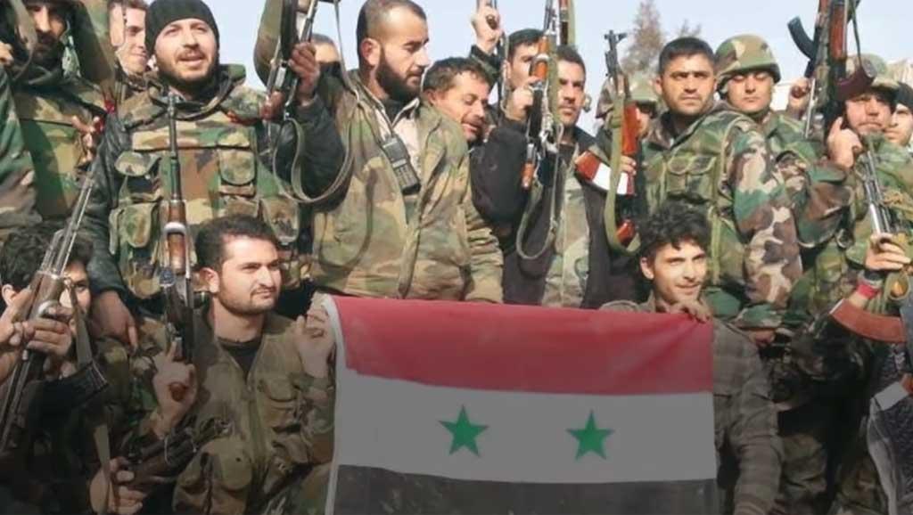 جيش الجنوب يهتف بإسقاط الأسد