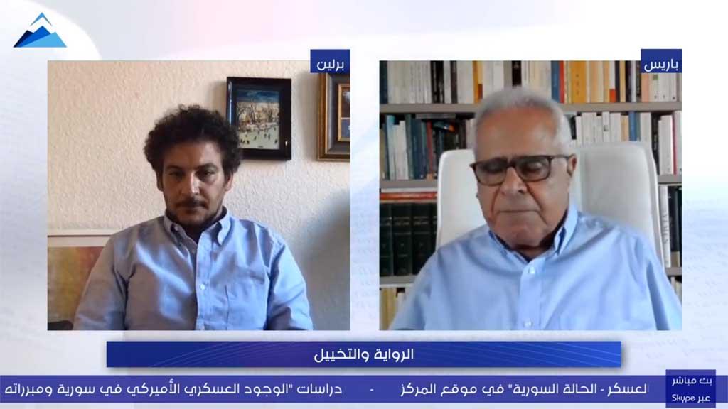 """الروائي محمد علاء الدين ونقاش حول """"الرواية والتخييل"""" في برنامج """"المقهى الثقافي"""""""