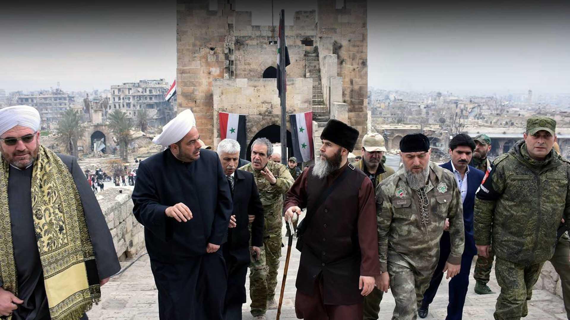 الدور الشيشاني في الحرب السورية