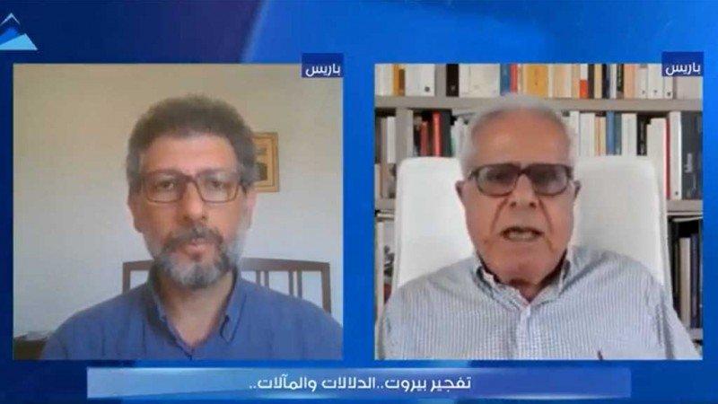 """""""دلالات ومآلات تفجير بيروت"""" في ندوة لحرمون"""
