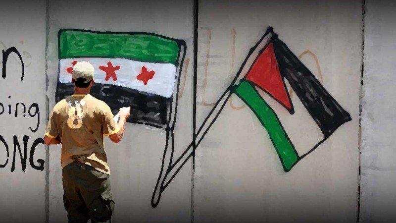 القضية الفلسطينية في صلب المسألة الديمقراطية