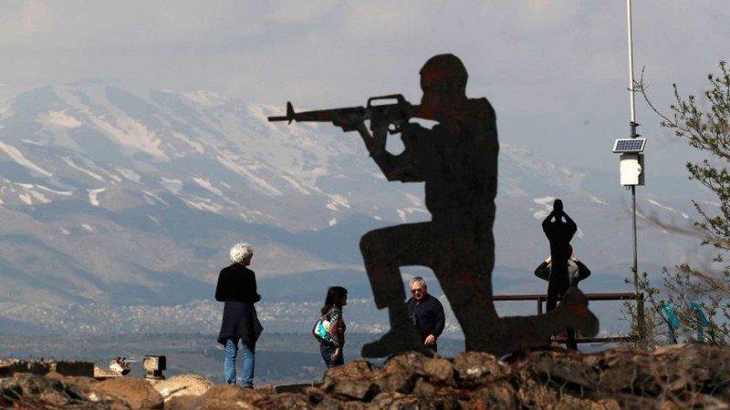 السياحة الحربية في الجولان المحتل