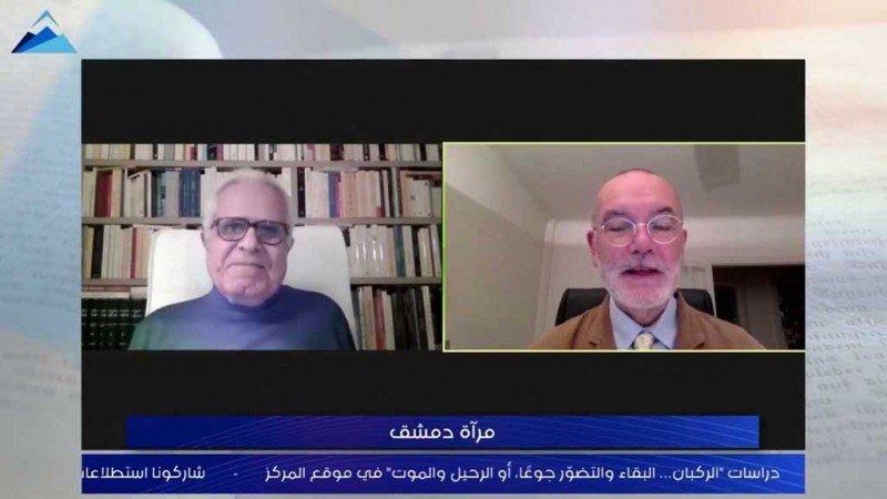 """جان بيير-فيليو يناقش """"مرآة دمشق"""" في المقهى الثقافي"""