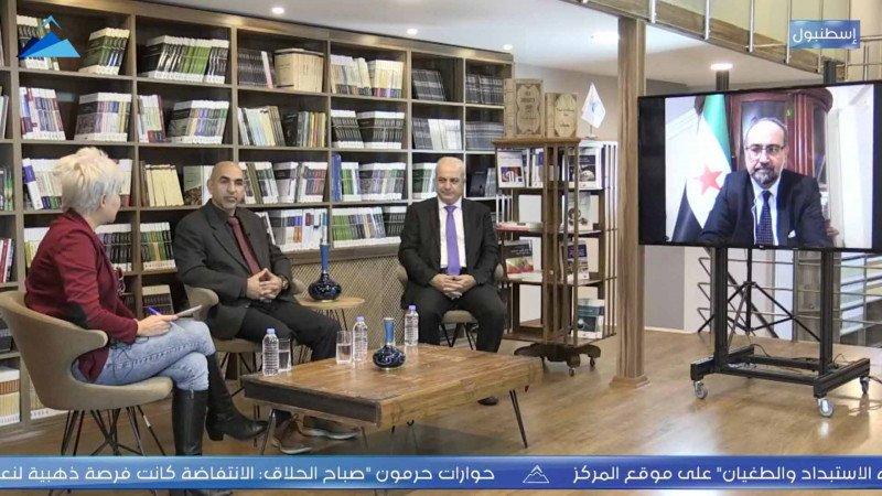 """""""الدبلوماسيون السوريون المنشقون... بين المعارضة والنظام"""" في ندوة لحرمون"""