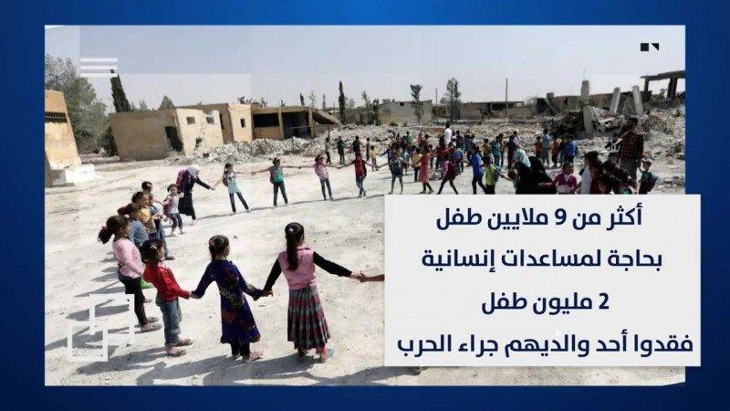 أطفال سورية ضحايا آلة القتل الأسدية