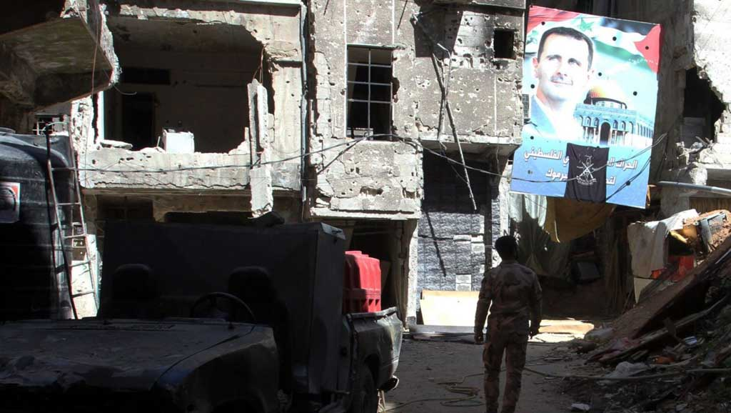 النظام السوري والعقوبات