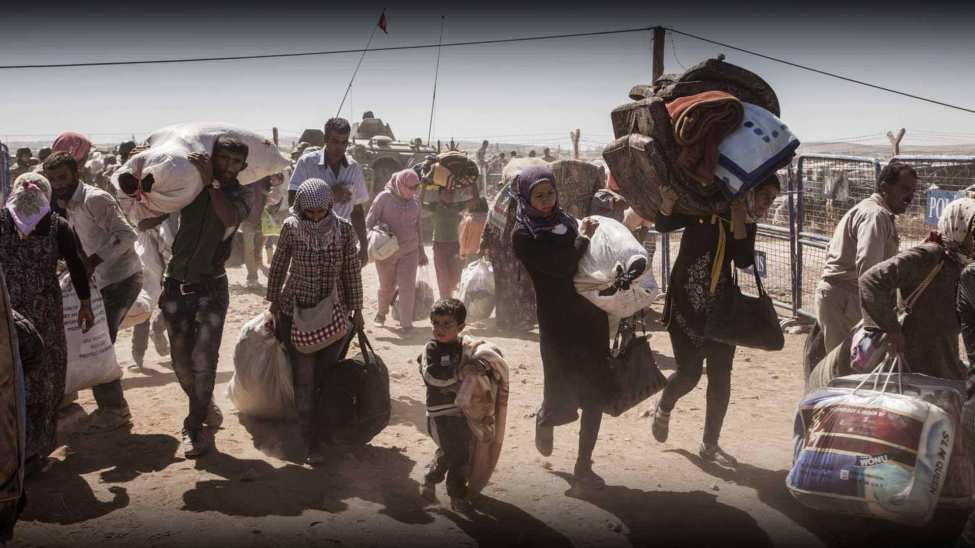 آثار النزوح في الشمال السوري