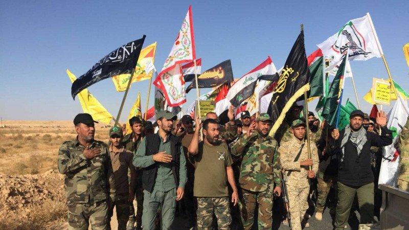 الميليشيات التي تديرها إيران في سورية