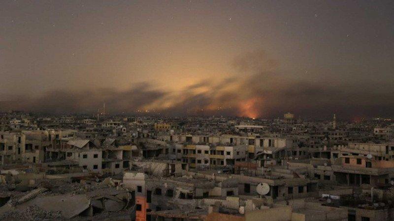 خارطة الموت في سورية