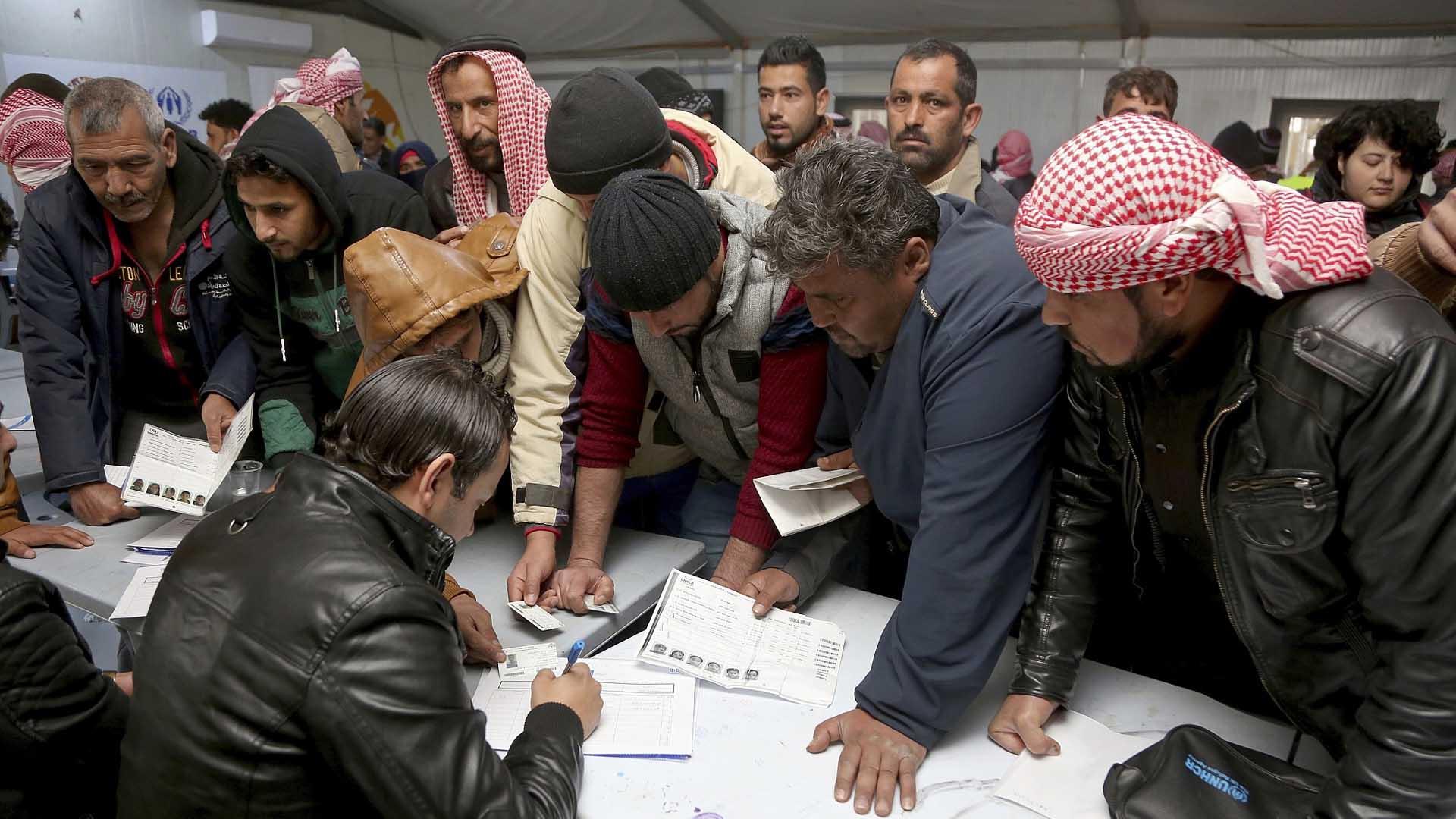 تصورات بشأن اندماج اللاجئين في سوق العمل في الأردن