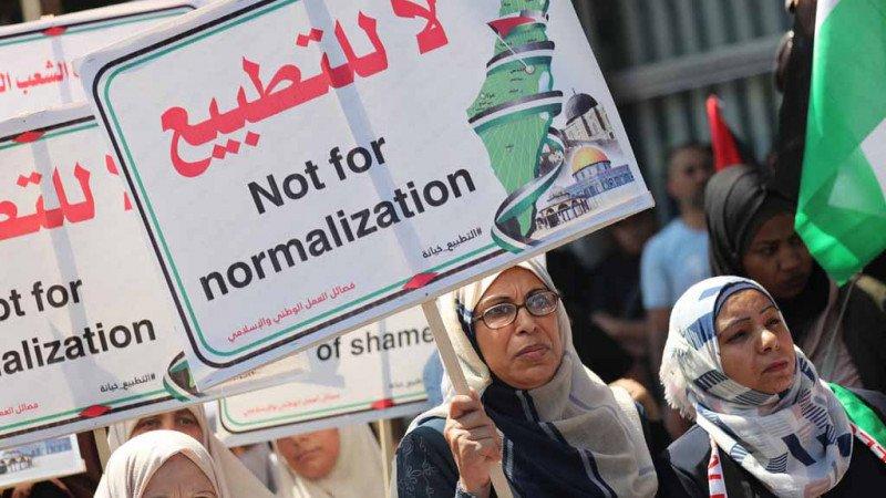 تردي الواقع العربي والتطبيع