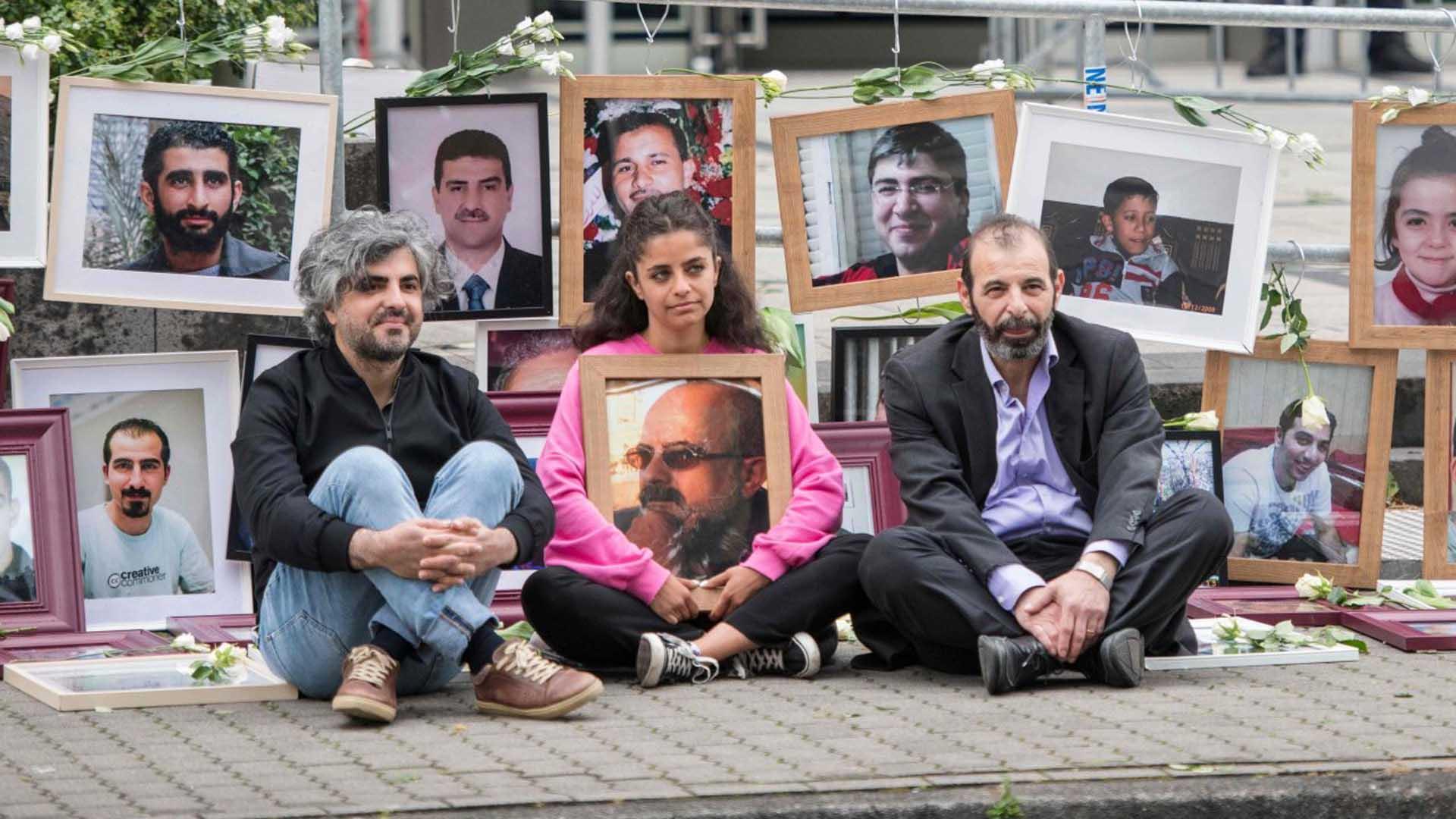 الأسد قيد المحاكمة