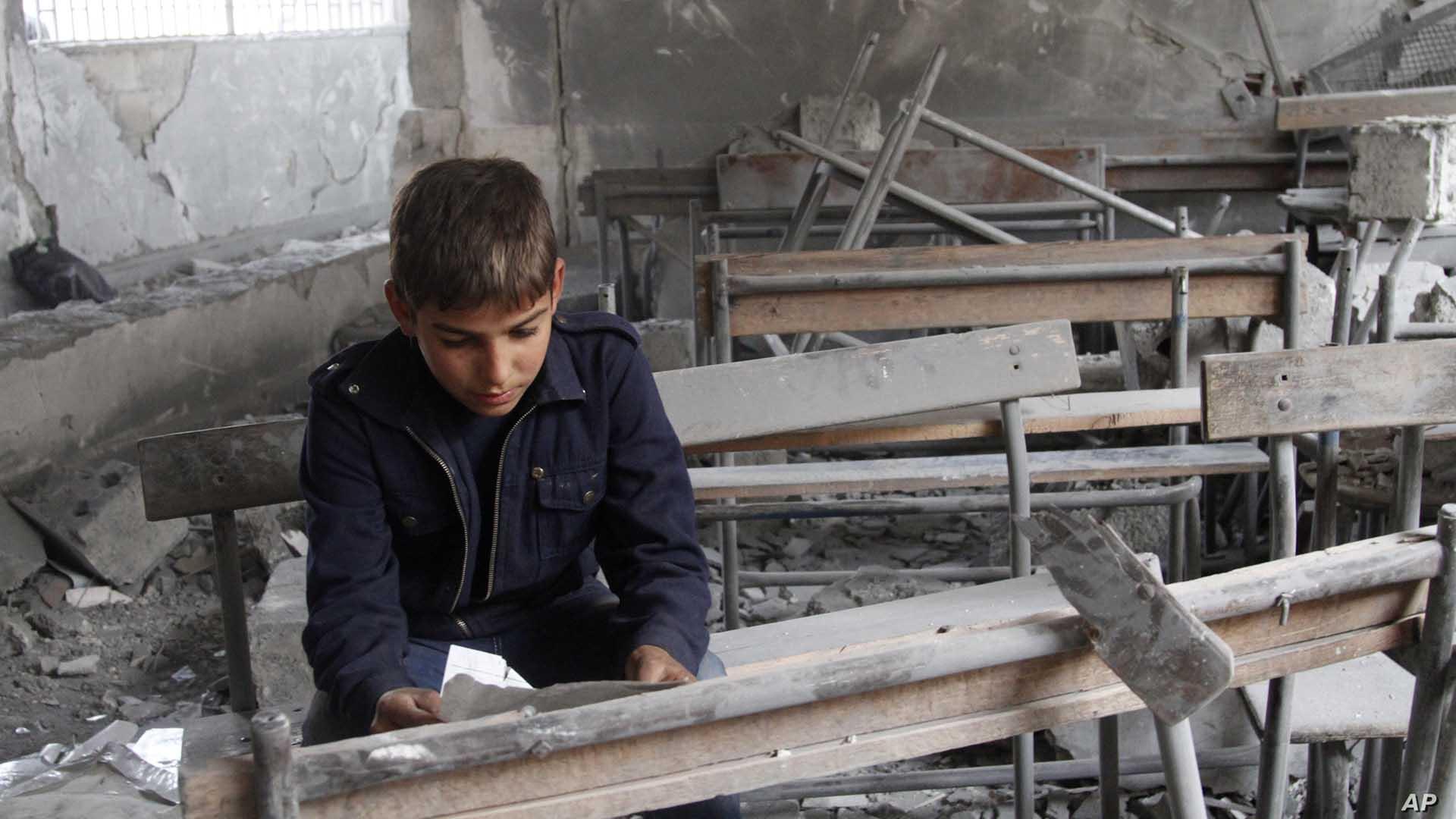تشخيص الدمار المجتمعي السوري (3 من 3): انهيارات قطاعات التعليم والصحة والدعم الاجتماعي