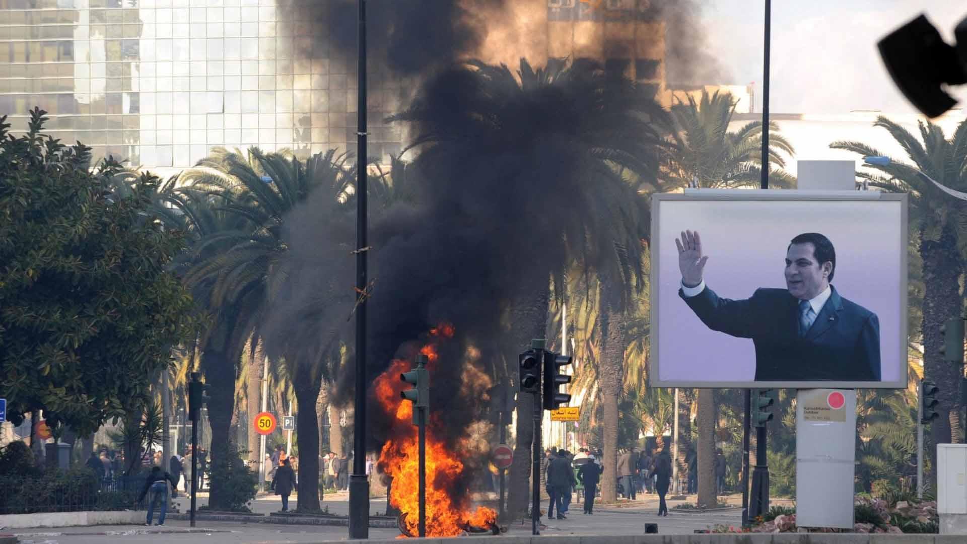 العالم العربي بعد عشر سنوات من سقوط بن علي