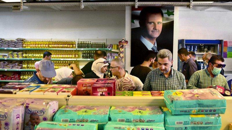 الأسد غارق في المصاعب الاقتصادية