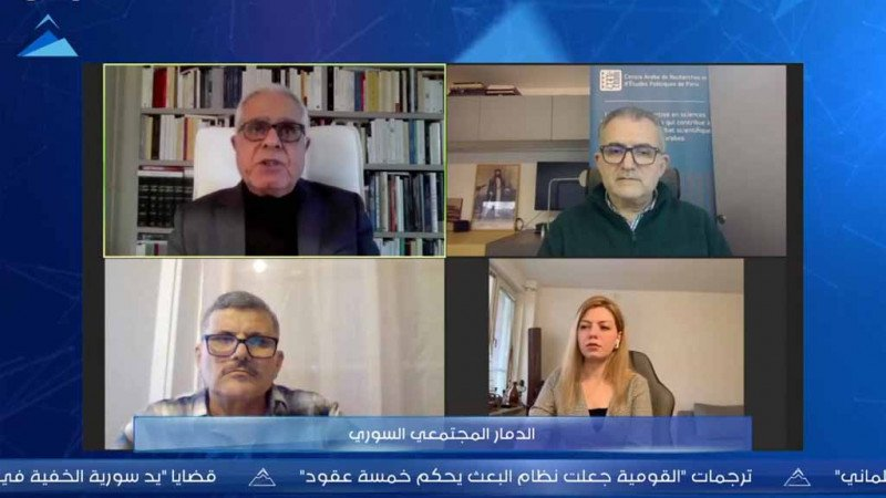 """""""الدمار المجتمعي السوري"""" في ندوة لحرمون"""