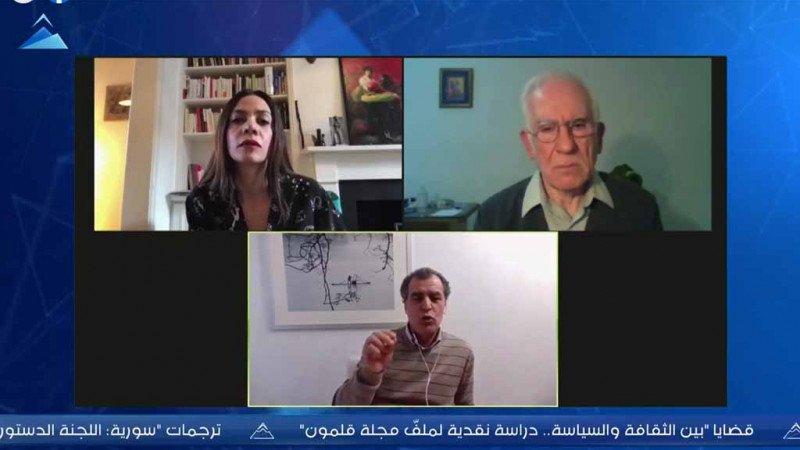"""""""أهمّ دروس الثورة السورية في ذكراها العاشرة"""" في ندوة لحرمون"""
