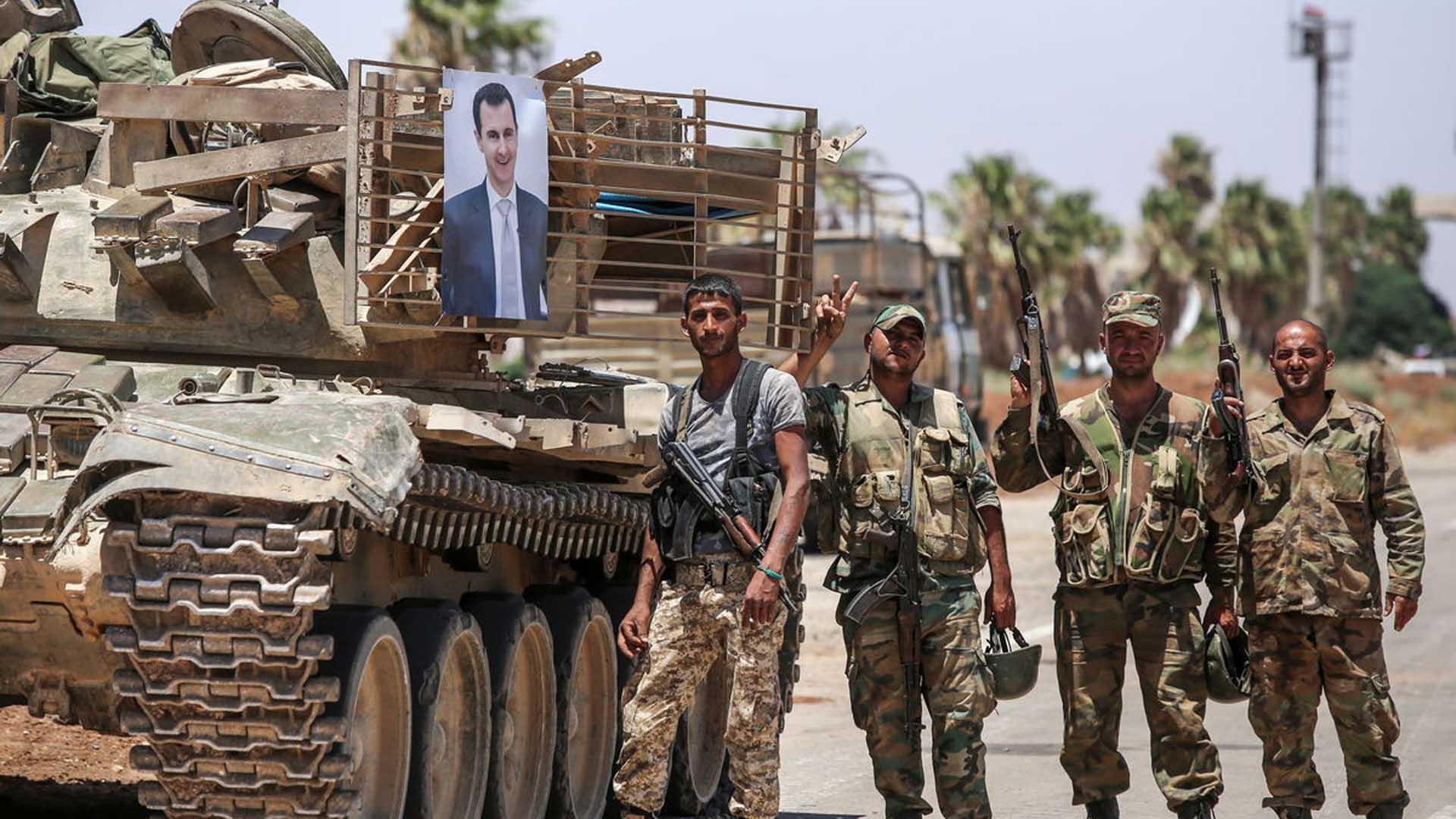 """عشر سنوات على """"الحرب"""" السورية"""