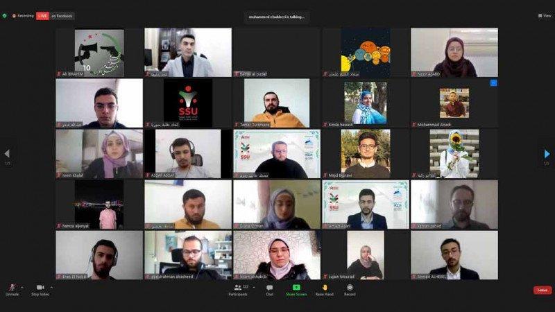 مؤتمر وانتخابات لاتحاد طلبة سورية برعاية مركز حرمون