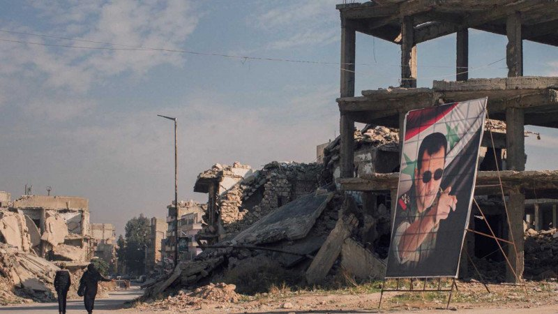 من حلب إلى دمشق... حيواتٌ مُدمَّرة