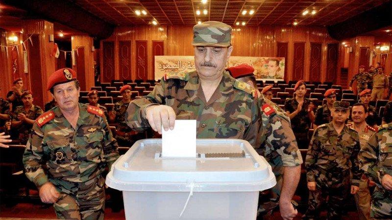الانتخابات الرئاسية المحسومة بحكم القانون لصالح بشار الأسد