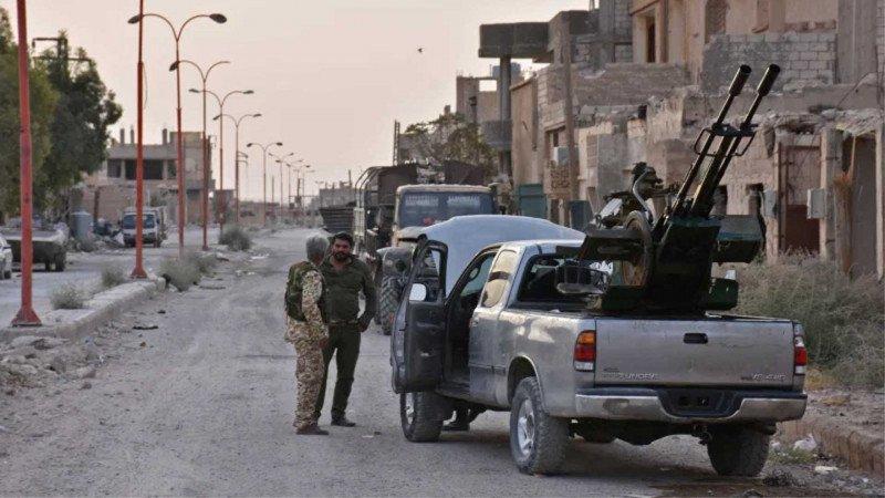 خارطة القوى المسيطرة شرق سورية