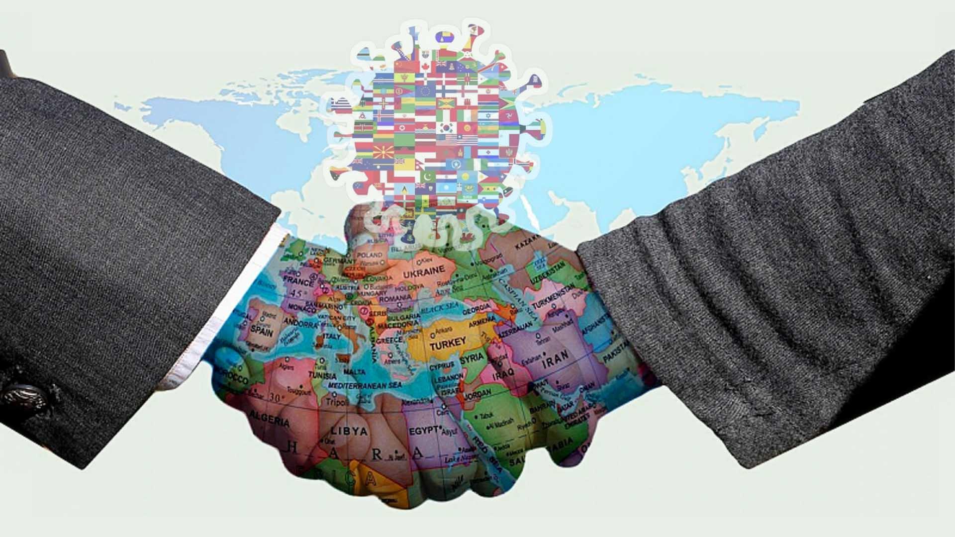 """العمل الدبلوماسي والعلاقات الدولية: بين المخاطر التقليدية والمخاطر المحدثة بعد """"كورونا"""""""