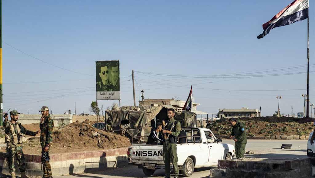 الدولة الأمنية في الدولة السورية