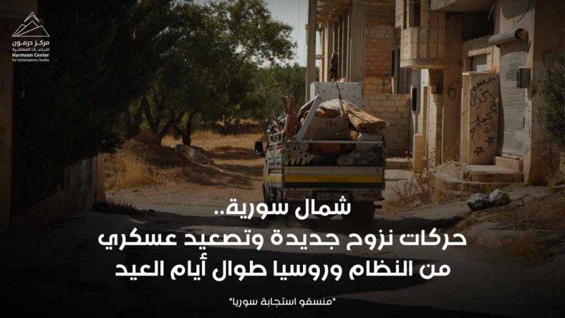 شمال سورية... حركات نزوح جديدة وتصعيد عسكري طوال أيام العيد