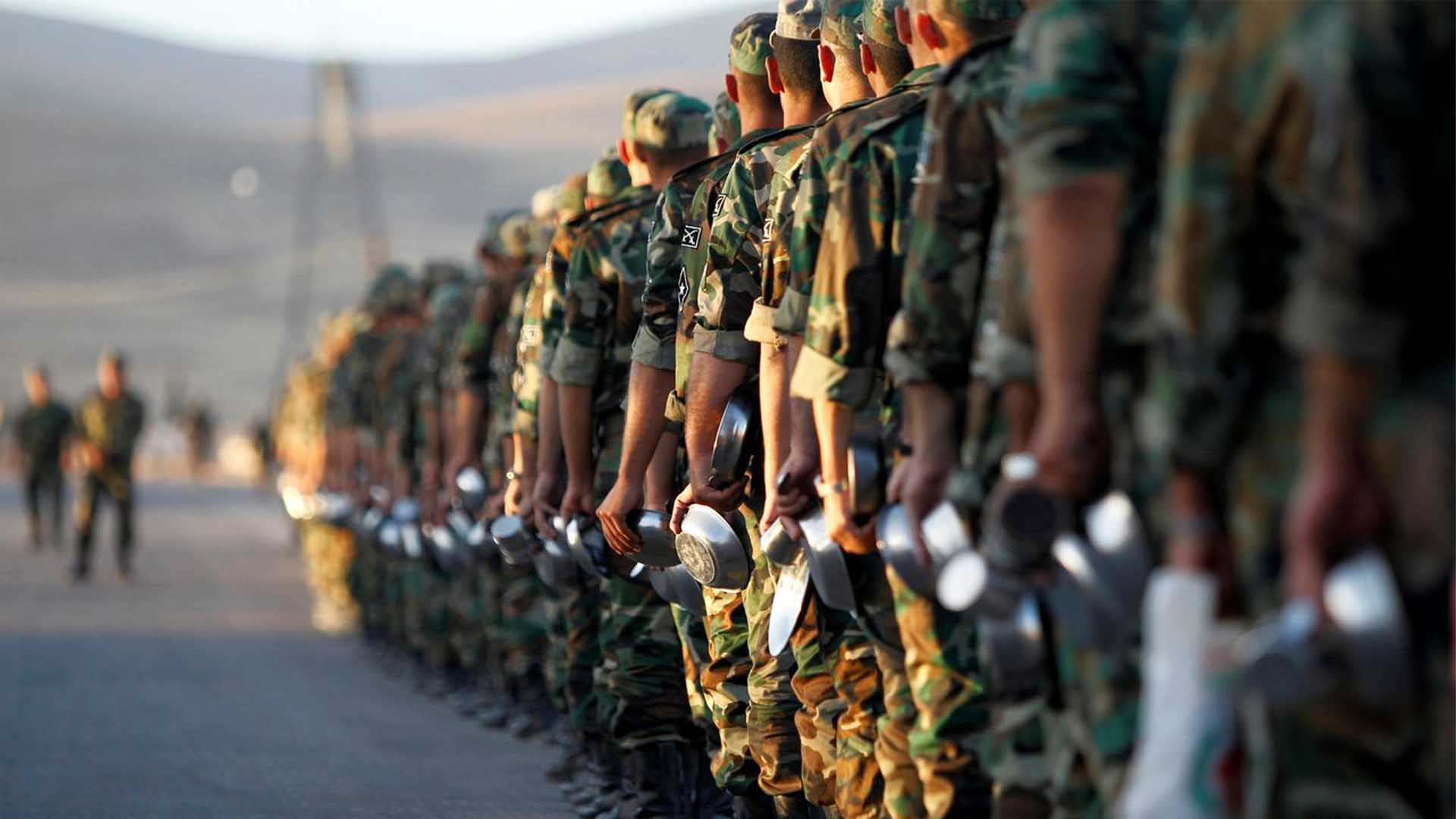 Restructuring the army in the new Syria