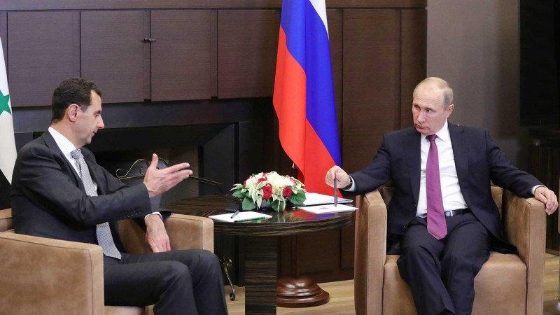سياسة روسيا في سورية والشرق الأوسط
