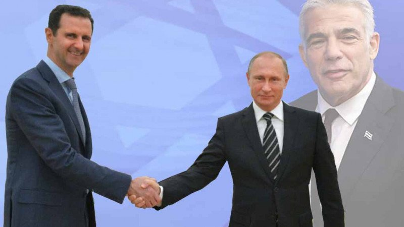 الأسد - لابيد في موسكو.. أي اختلاف؟