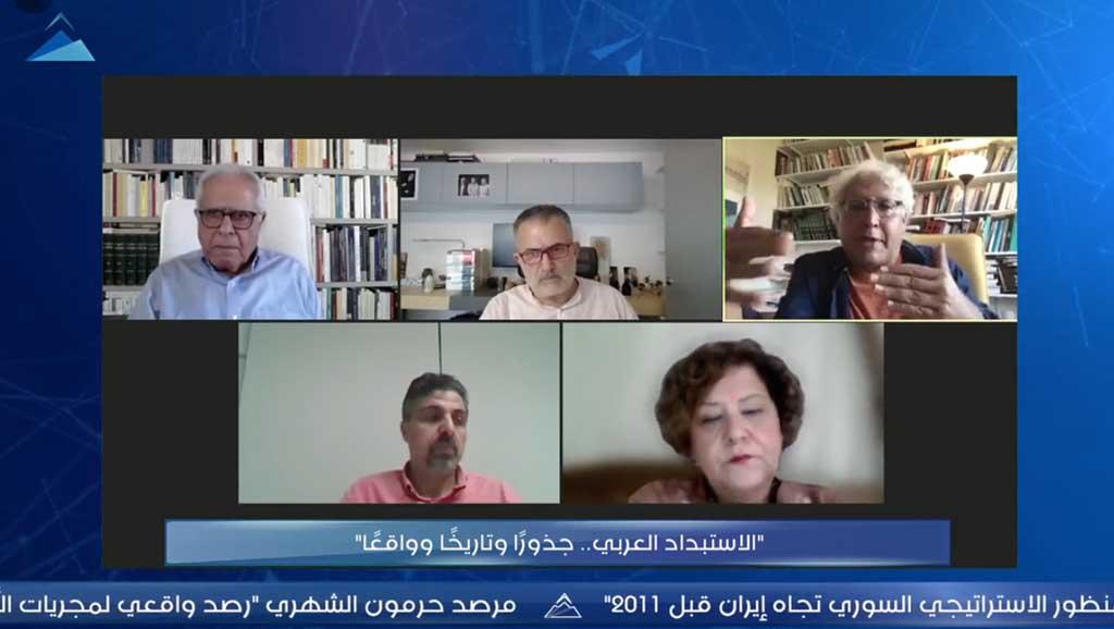 """""""الاستبداد العربي.. جذورًا وتاريخًا وواقعًا"""" في ندوة لحرمون"""